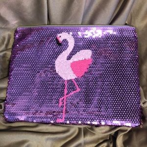 New Tarte Flamingo Makeup Bag